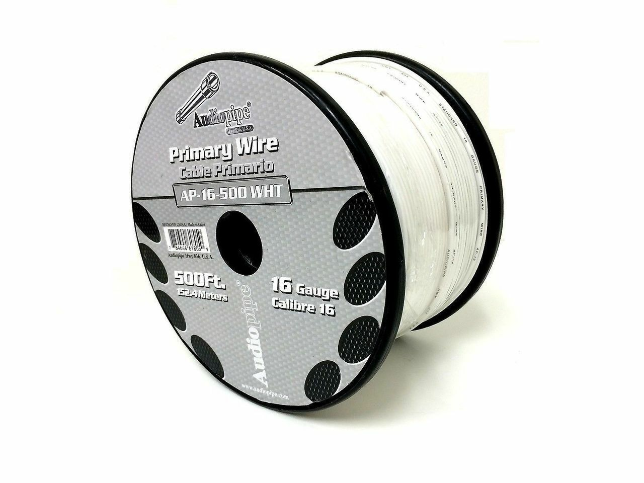 5 Rolls Audiopipe 500\' Feet 16 Gauge Primary Remote Wire Auto Power ...