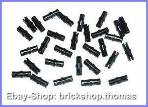 Lego-Technic-30-x-Verbinder-schwarz-2780-Connector-Pins-Black-NEU-NEW
