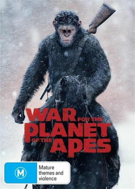 War For The Planet Of The Apes (DVD, 2017)