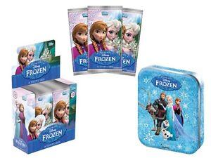 DISNEY-FROZEN-TOPPS-TRADING-CARD-STARTER-PACK-BINDER-TIN-PACKS-CARDS