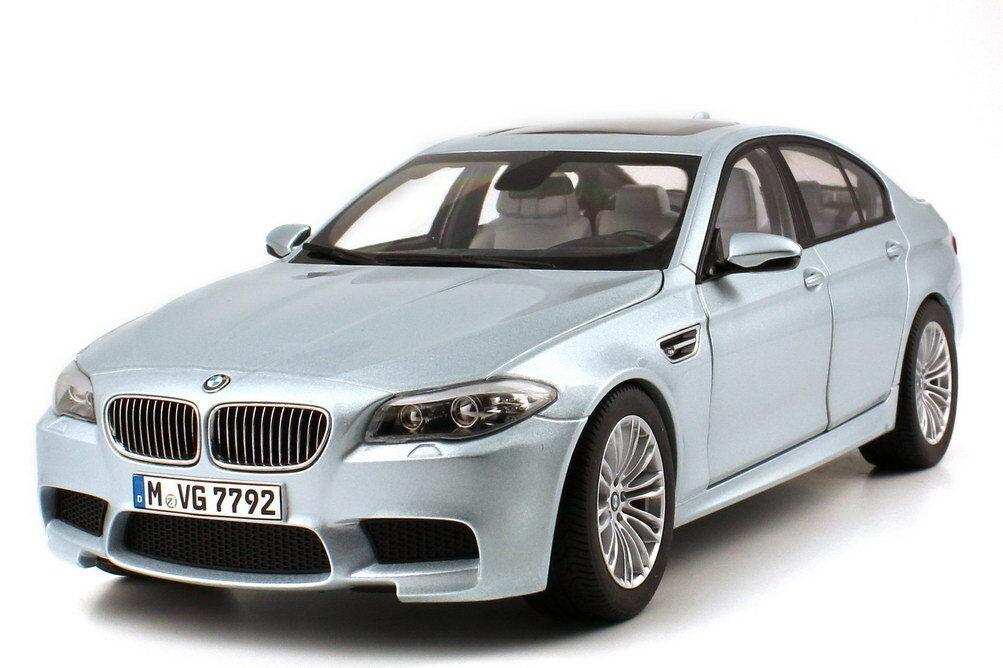 1:18 BMW M5 2012 F10 F10 F10 Argenté Stone Argent - Dealer-Edition - Oem - Paragon 1883cc