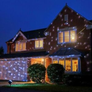 Proiettore Luci Natalizie Per Esterno Ebay.Proiettore Led Natale Palle Di Neve Per Esterno Led Rotazione Natale Ebay