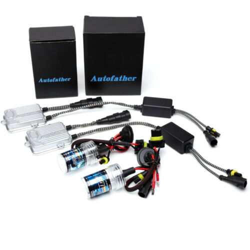 55W H7 HID Xenon Headlight Conversion KIT Bulbs and Ballasts High or Low Beam UK