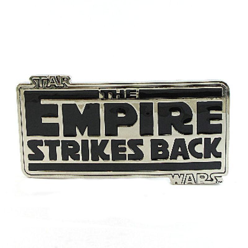 EMPIRE STRIKES BACK BELT BUCKLE STAR WARS GEEK GIFT SCIFI MOVIE NERD SNAP BELT