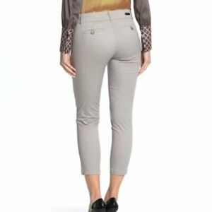 KUT-from-the-Kloth-Taylor-Crop-Trousers-Gray-Size-12