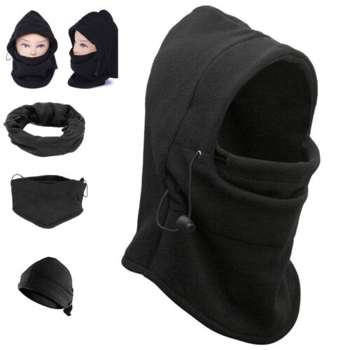 UK Windproof Cap Winter Outdoor Fleece Cap Cycling Ski Head Neck Face Protector