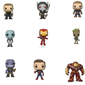 Funko-Pop-Hulkbuster-Groot-Thanos-Ironman-Thor-Spiderman-Figurine-Articulee