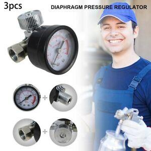 3PCS-HVLP-Sprayer-Air-Regulator-with-Pressure-Gauge-and-Diaphragm-Control-QQ
