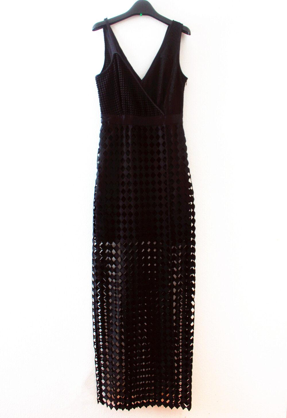 New Diane von Furstenberg Asymmetric Side Slit Gown, Stunning