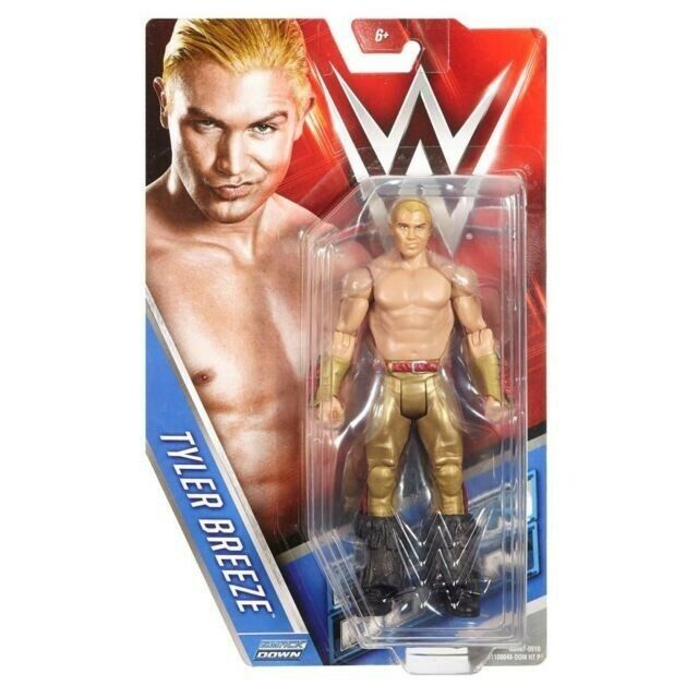 Wwe Basic Wrestling Action Figure Tyler Breeze Mattel