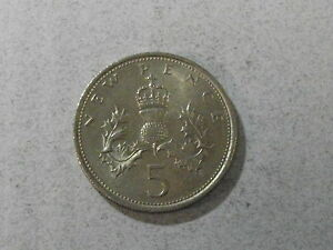 England 5 New Pence 1970 - Deutschland - England 5 New Pence 1970 - Deutschland