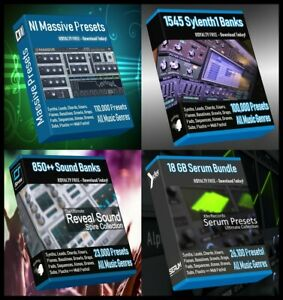 Ultimate-Presets-Bundle-Serum-Massive-Spire-Sylenth1-260-000-Presets