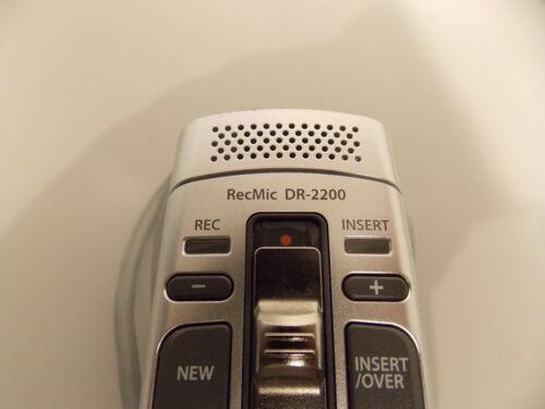 MwSt Olympus RecMic DR-2200 Schiebeschalter mit Trackball