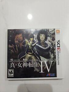 Shin Megami Tensei IV (Nintendo 3DS, 2013) - Complete in Box