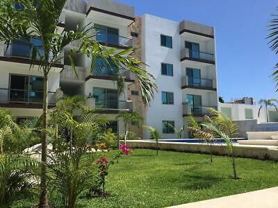 Departamento nuevo en venta con financiamiento en Playa del Carmen (504)
