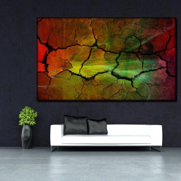 LEINWAND BILD ER XXL POP Kunst MODERNE KUNST ABSTRAKT WAND GRAFFITI POSTER 150x90