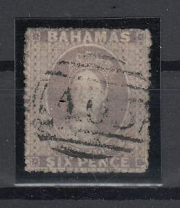 C2654-BRITISH-BAHAMAS-VICTORIA-SG-6a-USED-CERTIFICATE-CV-620