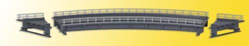 Marina #neu in OVP # Kibri 39706 traccia h0 acciaio ponte a cassone piegato