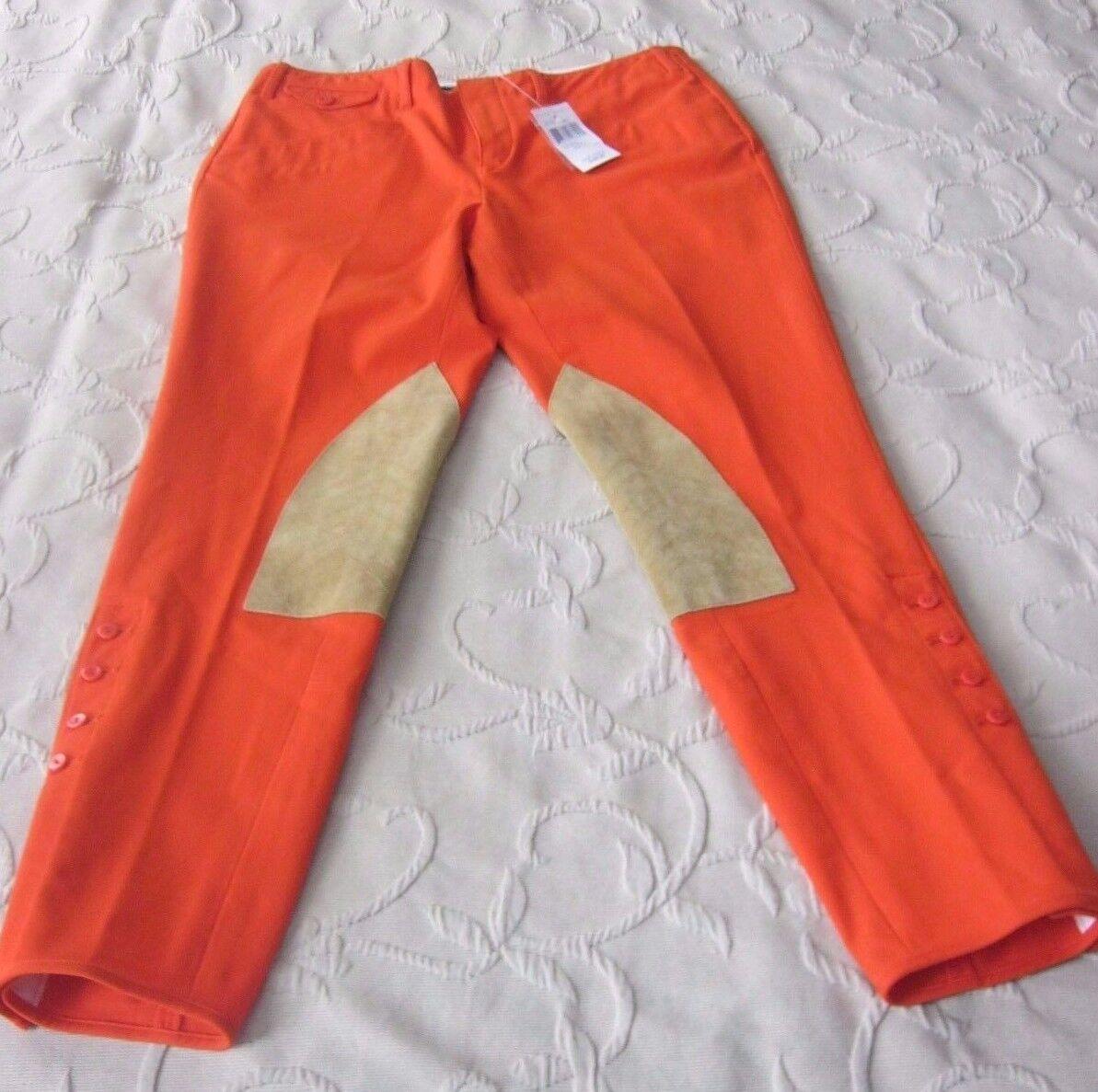 NWT Polo Ralph Lauren Sport Jodhpurs Breeches Equestrian Riding Pants Womens 6