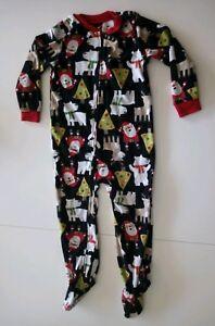 fe802c0b7b133 Pyjama Carters motif Noel Enfant Garcon Fille Grenouillère 4 Ans