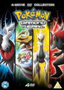 Nuovo-Pokemon-Film-10-13-Collection-Diamond-amp-Pearl-DVD