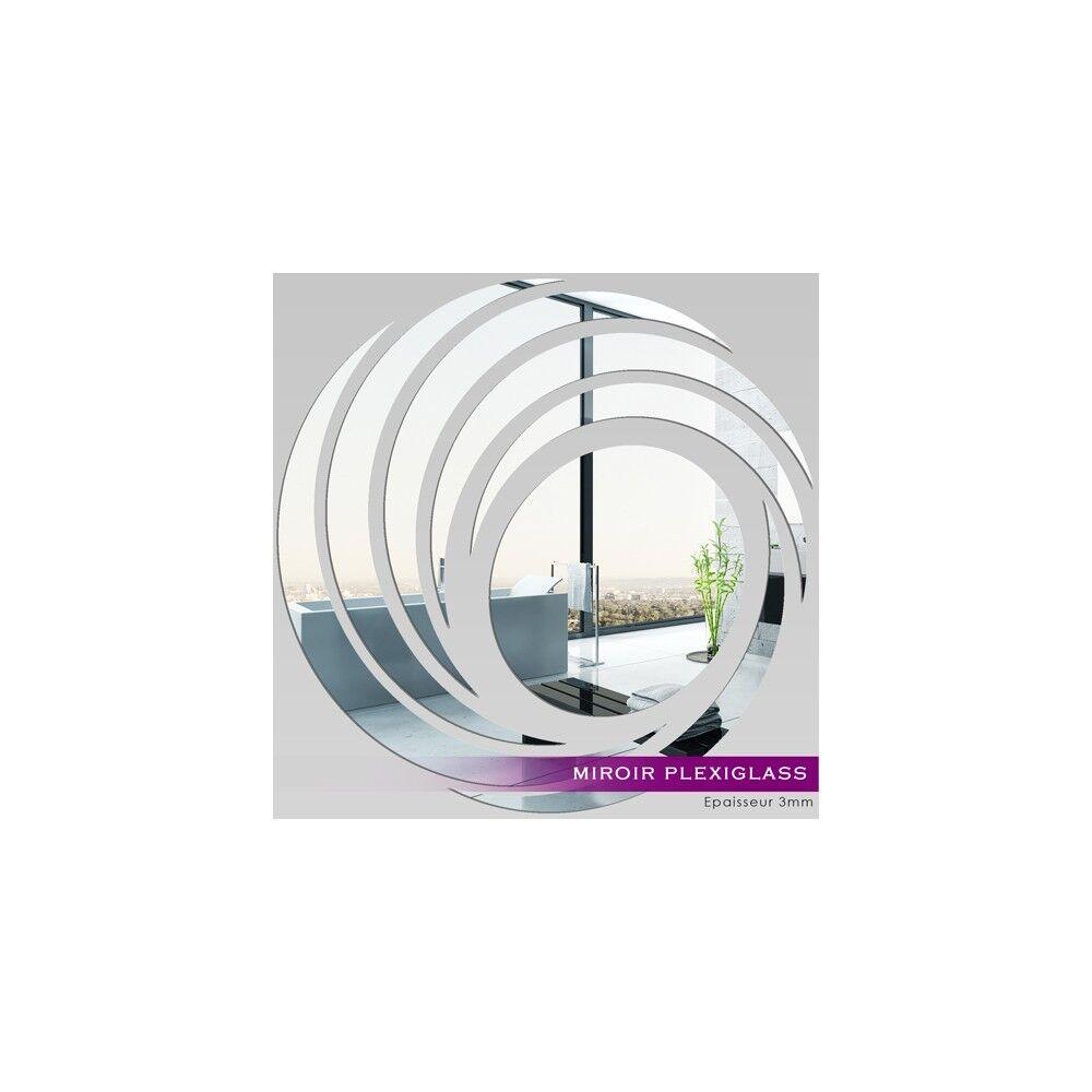Miroir Plexiglass Acrylique - - - Spirales Design Ref: MIR-016 0b6979