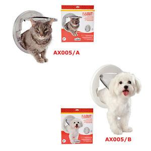 Gattaiola porta basculante per montaggio su vetro cani - Porta per gatti ...