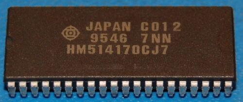 SOJ-40 Hitachi General-Purpose CMOS DRAM HM514170 256K x 16 2Mb