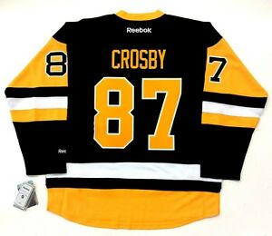 official photos ad892 8fc81 Details about SIDNEY CROSBY PITTSBURGH PENGUINS REEBOK PREMIER THIRD JERSEY  2017 NEW W/ TAGS
