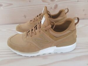 reputable site fe3bb 72c72 Details about New Balance 574 Tanned Trainers
