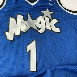 best sneakers f3a3c 6f0ce Details about Vintage Penny Hardaway Orlando Magic #1 Champion NBA Jersey  Size 40