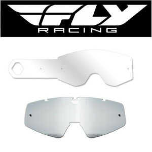 Fly Racing Zone Pro//Zone//Focus Goggle Tear Offs 20 Pack Clear