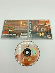 Sony-PlayStation-1-PS1-PSOne-CIB-Complete-Tested-The-Mummy-Ships-Fast-MINT