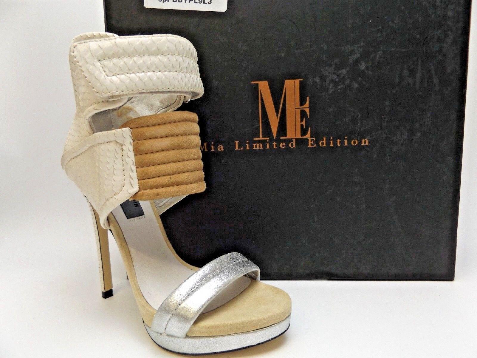 Para mujer Mia Rocco edición limitada limitada limitada de Serpiente blancoo Talla 6.0 m  350 Nueva Pantalla D4632  tienda en linea