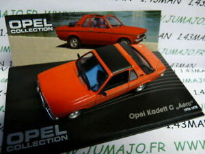 OPE62R-voiture-1-43-IXO-eagle-moss-OPEL-collection-KADETT-C-Aero-1976-1978