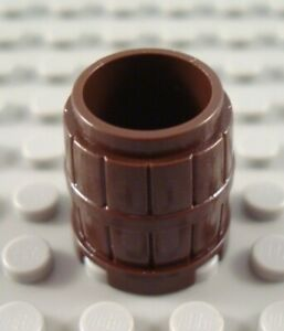 New LEGO Reddish Brown Small Pirates Western Barrel Container Part