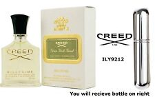 Creed Green Irish Tweed - 100% Eau De Parfum-Silver Filled Spray Bottle 5ml - UK