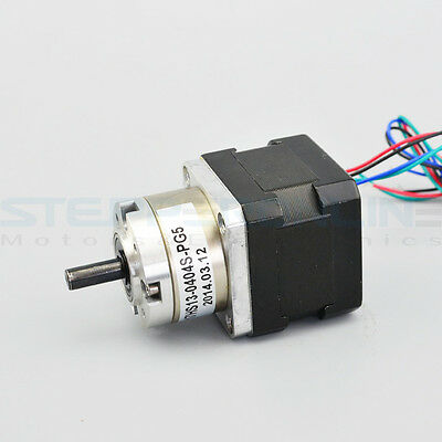 5:1 Planetary Gearbox Nema 17 Stepper Motor 3D Printer Extruder Motor DIY CNC