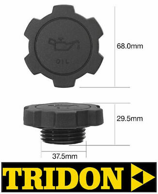 TRIDON FUEL CAP NON LOCKING FOR Toyota Corolla AE101R 09//91-12//98 1.6L 4A-FE