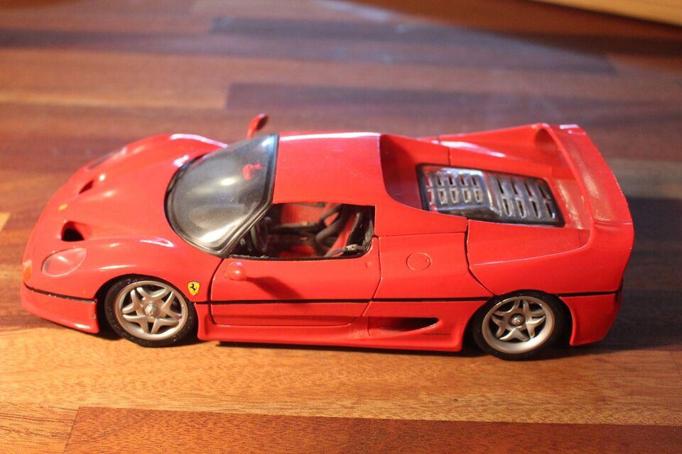 Modelbil, MAISTO FERRARI F50, skala 1/18