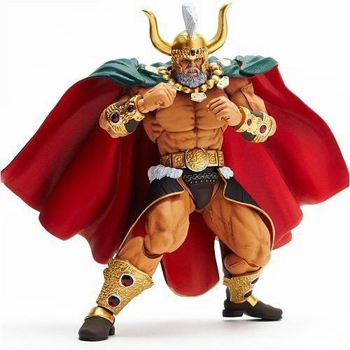 Revoltech Fist Of The North Estrella Revolución No.008 Uighur el Alcaide Kaiyodo