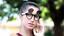 thumbnail 34 - Flip Up Circle Steampunk Glasses Goggles Sunglasses Emo Retro Vintage Cyber Punk