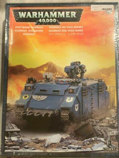 Tracks Bits Warhammer 40k Space Marines Razorback Sides