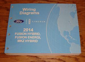 Original    2014       Ford       Fusion       Hybrid    Energi Lincoln MKZ Wiring