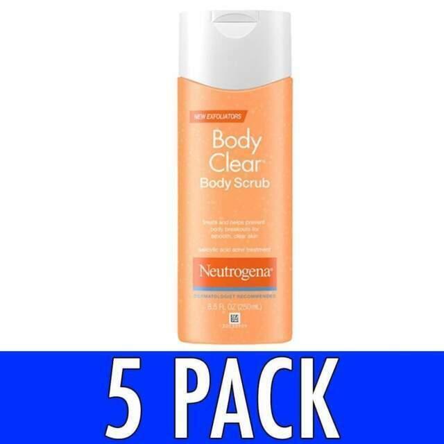 Neutrogena Ng07000 Body Clear 8 5 Fl Oz Acne Body Scrub For Sale