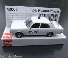 Busch  Opel Rekord Polizei  Hessen HO 1:87  #1961