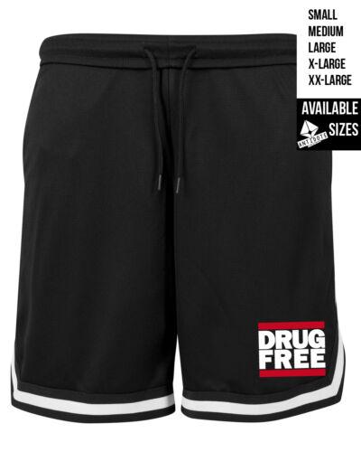 Drug Free//Mesh Short//antidoti streetwear Punk Antifa Straight Edge Hardcore