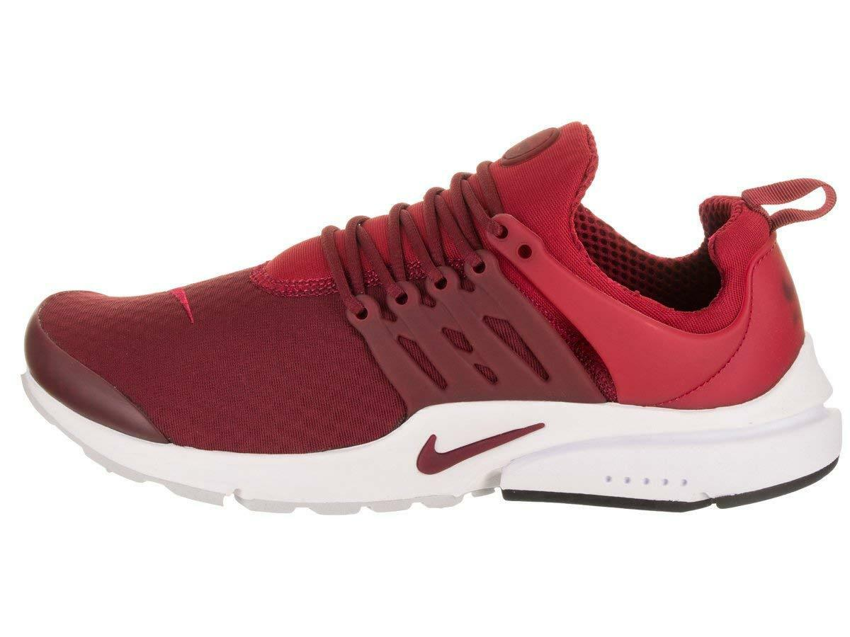 Nike Men's AIR PRESTO ESSENTIAL Shoes Gym Red/White 848187-604 c