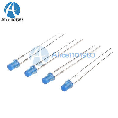 1000Pcs Led Diffused F5 5Mm Blue Color Blue Light Super Bright Bulb Lamp pi