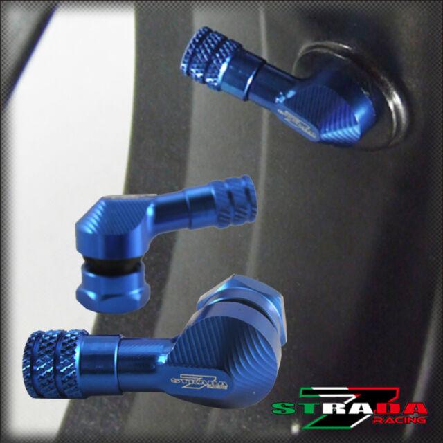 Strada 7 83 grados 11.3mm CNC VÁSTAGOS DE VÁLVULAS PARA MOTO SUZUKI GSR750 Azul